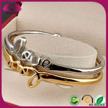 Popular love bangle Silver Jewelry Party