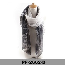 New Fashion Double Sided Women's Pashmina Shawl Scarf Wrap Pattern Printed Floral Shawl