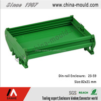 Factory direct sale high quality modular enclosure PVC electronic standard din-rail enclosure
