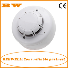 conventional alarm system 2/4 wire network optical chamber smoke detector