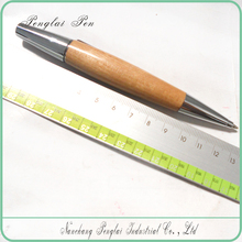 2015 factory hot sell wooden carved ball pen in Nanchang