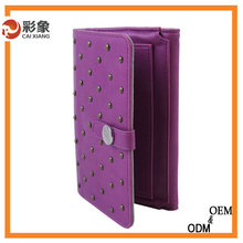 2015 Hot New arrival Ostrich flip leather case for samsung galaxy s4