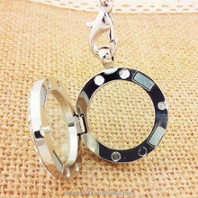 2015 fashion jewelry magnetic pendent for floating charms