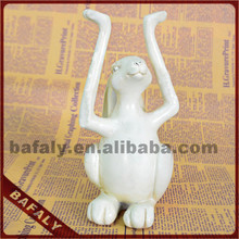 cheapest rabbit home decoation, christmas gift and ornament resin rabbit statues