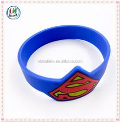 Custom personalized sport silicone bracelet , customize silicone bracelet