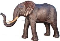 Bronze / Brass Elephant Statue Sculpture Garden Ornament Decoration Animal Sculpture