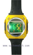 China hot selling stainless steel backcase digital wrist watch in discount