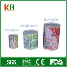 Customized Money Box Can/Hot Sale Money Box Can/ Tinplate High Quality Money Box Can