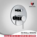 2- função de parede quente e fria misturador de água do chuveiro