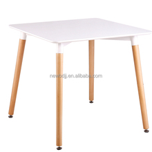 Morden design commercial use indoor outdoor UV-protection garden picnic MDF square dining table