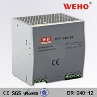 240w 12v single output dinrail switching mode power supply