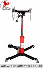0.5T hydraulic telescopic transmission jack for garage equipment