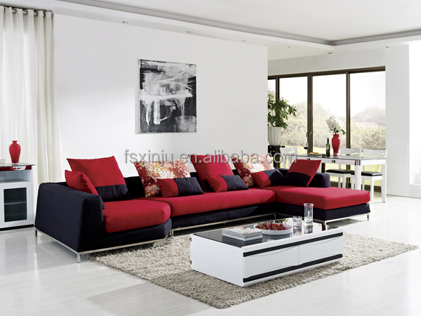 Furniture designer modern colorful sofa new arrival for Sofas modernos en l