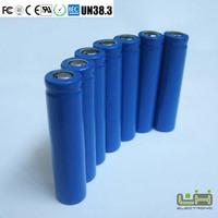 electric bicycle toy car lli-ion battery 18650 2200mah
