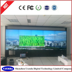 seamless 47 inch lcd display wall/wall panel with lcd unit for live show or advertising