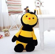 Promotional gifts stuffed insect toy cute bee plush toy