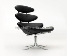 Jh-sl50 ocio moderno Corona silla con reposapiés Corona presidente replica