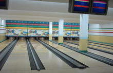used gym bowling lane equipment for sale