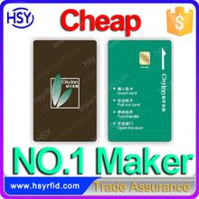 China Maker RFID Program Printable hotel room key card