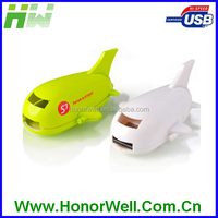 Mini Airplane Shark Shape USB Flash Drive From 8GB To 16GB with Free Logo