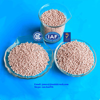 separation of natural gas and alkenes, adsorption of water in non-nitrogen sensitive polyurethane
