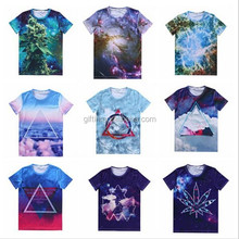 3D All Over Sublimation Printing, Screen Custom T Shirt Printing, Clothing Manufacturer T Shirt Wholesale