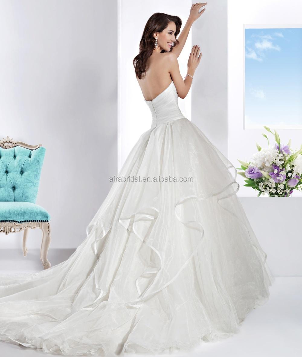 Turmec Strapless Wedding Dress Ebay