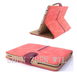 2015 new model leather book case for ipad air
