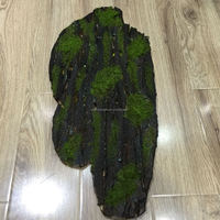 Artificial Tree bark Irregular shape for artificial plant wall plant Photo Frame High Quality for home hotel decorative