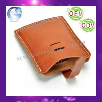 Leather Mobile Phone Pouch Holder