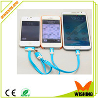 Original Mobile Phone 3 in 1 Usb Data Cable Made in China