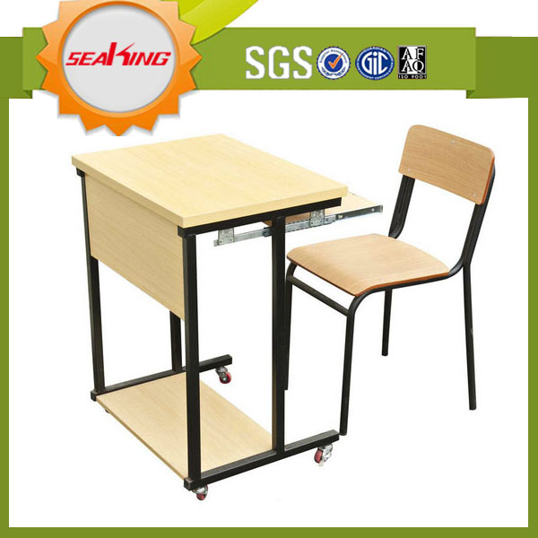 Classroom Furniture Cheap ~ Hot sale school desk and chair used furniture for