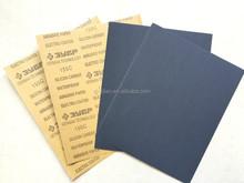 Kraft Backing silicon carbide Waterproof abrasive paper sheet