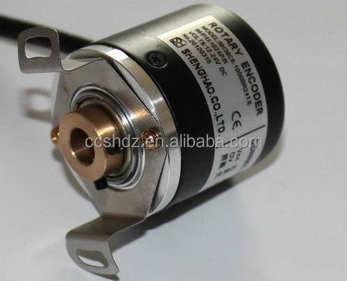 Hollow shaft encoder 28mm optical hollow shaft encoder for Hollow shaft servo motor