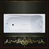 Fashion superior quality corner cheap acrylic bathtub with CE certificate