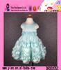 2015 Fashion Hot Sale Flower Lace Party Dress Custom Sleeveless Princess Girl Kids Children Dress Model