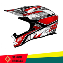 Full Face ECE Certification Approved Iregal Motorcycle Helmet