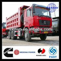 shaanqi group D-LONG F2000 6*4 30 ton dump truck better than japan tippers
