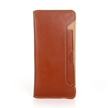 Open pocket removable card slot genuine leather mobile phone case for Iphone 5/5s/6