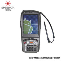 CE/RoHS cerified barcoders scanners rfid card reader rugged smartphone