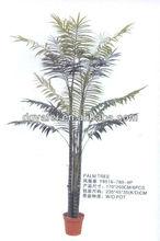 White leaves bonsai tree,fake palm