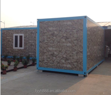 2015 new brick color multiple container home