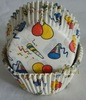 Wholesale BALLOON Baking Cups Sport ball cupcake liners baking paper cup party muffin case