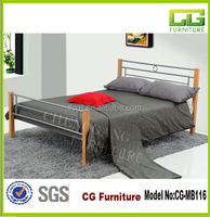 Modern 2015 popular queen four poster bed in china