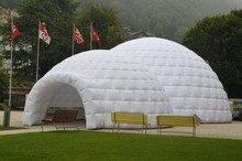Best quality inflatable dome tent for party celebration with light