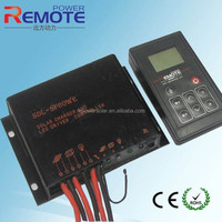 10%-90% dimming solar controller with LED driver and timer + light control solar battery charger 12V