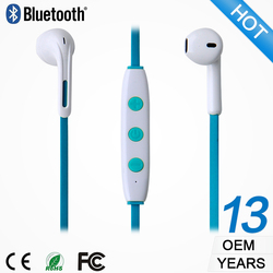OEM/ODM factory cheap earphone promotional cheap wireless earplug headphones handfree headset mobile phone accessories