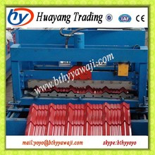 Corrugated Steel Rollforming Mill Coil Glazing Roofing/Wall Sheet Rolling Forming Machinery