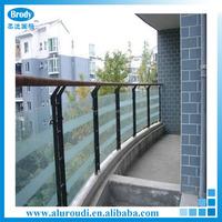 Modern Price Parapet Glass Railing Product Glass Stair Handrail