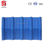 Anti-uv light weight spanish PVC roofing plastic tile per price